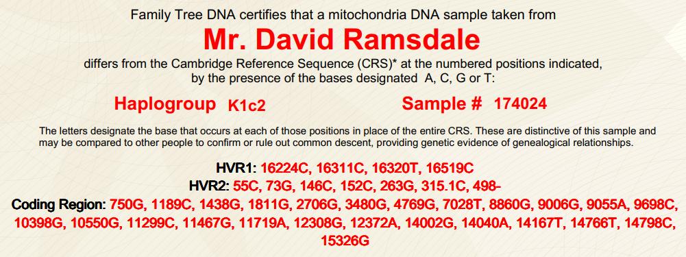 DRR DNA