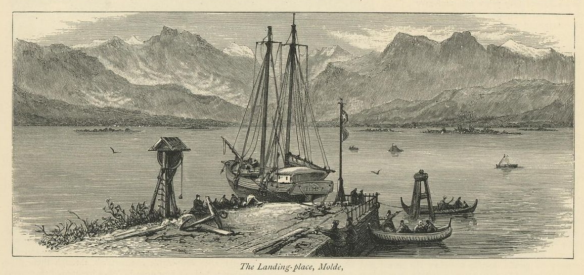 The Landing-place, Molde (1877)