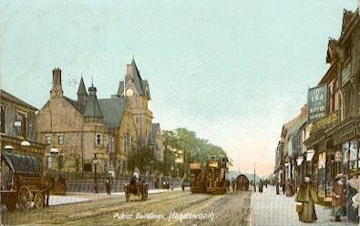 Public Buildings, Handsworth, 1906